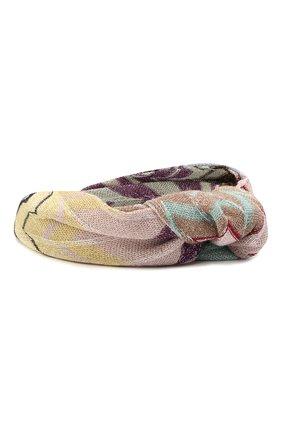 Женский ободок для волос MISSONI разноцветного цвета, арт. MDS00309/BR00DR | Фото 2