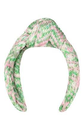 Женский ободок для волос MISSONI зеленого цвета, арт. MDS00309/BR00DY | Фото 1