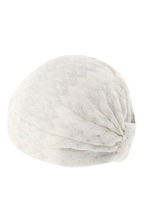 Женская тюрбан из вискозы MISSONI белого цвета, арт. MMS00011/BR00E2 | Фото 2