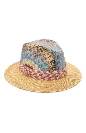 Женская соломенная шляпа MISSONI разноцветного цвета, арт. MMS00071/BR00E3 | Фото 1