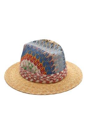 Женская соломенная шляпа MISSONI разноцветного цвета, арт. MMS00071/BR00E3 | Фото 2