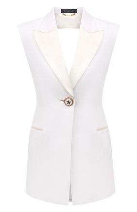 Женский жилет VERSACE белого цвета, арт. A89216/A212457 | Фото 1