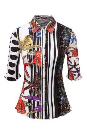 Женская рубашка VERSACE разноцветного цвета, арт. A88883/1F01292 | Фото 1