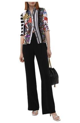 Женская рубашка VERSACE разноцветного цвета, арт. A88883/1F01292 | Фото 2