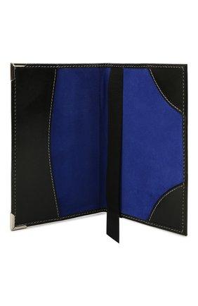 Мужской кожаная обложка для паспорта ASPINAL OF LONDON черного цвета, арт. 062-0453_00210000 | Фото 2