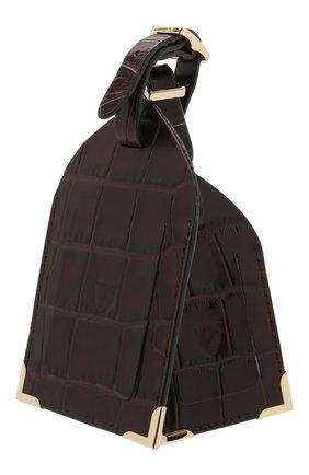 Мужской кожаная багажная бирка ASPINAL OF LONDON темно-коричневого цвета, арт. 062-0117_00010000 | Фото 2