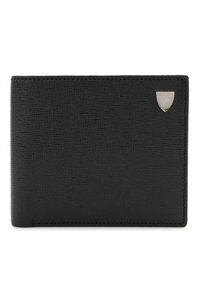 Мужской кожаное портмоне ASPINAL OF LONDON темно-синего цвета, арт. 039-2353_25590000 | Фото 1