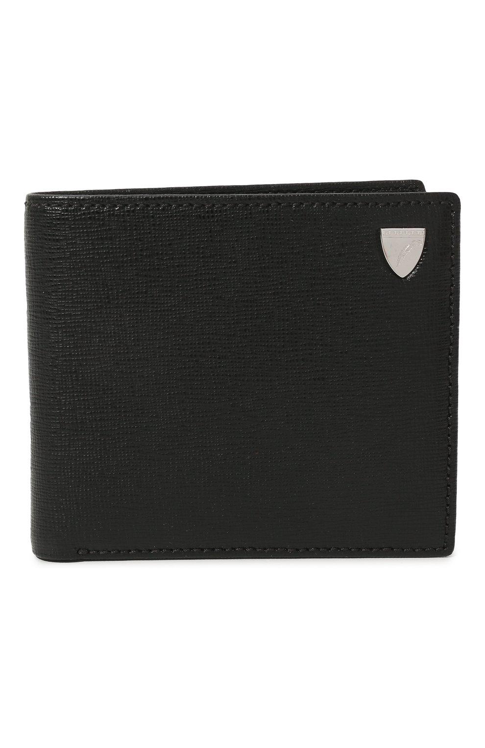 Мужской кожаное портмоне ASPINAL OF LONDON черного цвета, арт. 039-2353_25580000 | Фото 1