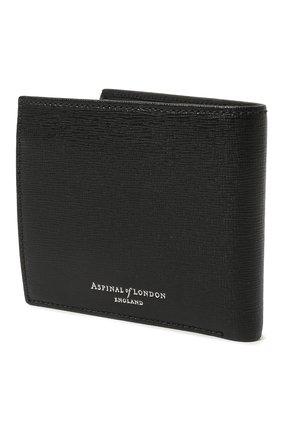 Мужской кожаное портмоне ASPINAL OF LONDON черного цвета, арт. 039-2353_25580000 | Фото 2