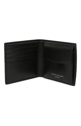 Мужской кожаное портмоне ASPINAL OF LONDON черного цвета, арт. 039-2353_25580000 | Фото 3