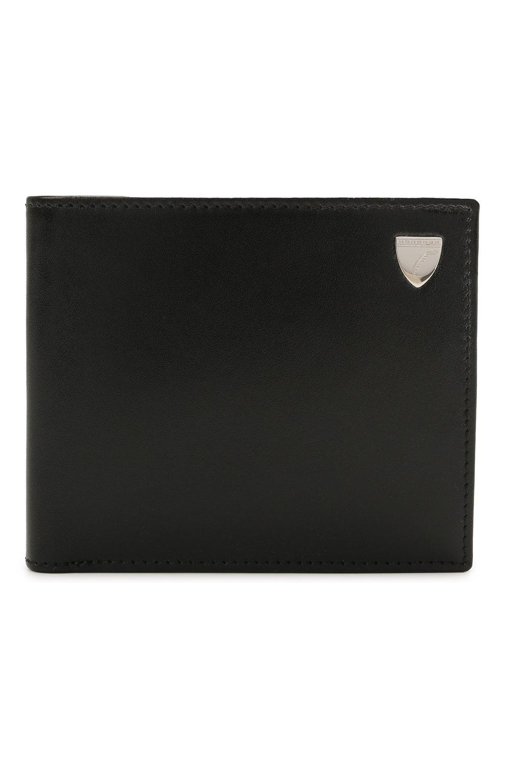 Мужской кожаное портмоне ASPINAL OF LONDON черного цвета, арт. 039-2353_00190000 | Фото 1