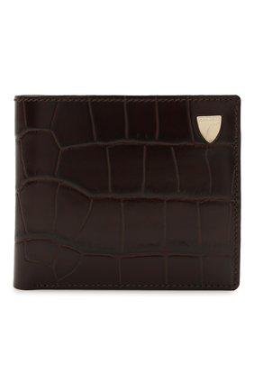 Мужской кожаное портмоне ASPINAL OF LONDON коричневого цвета, арт. 039-2353_00010000 | Фото 1