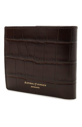 Мужской кожаное портмоне ASPINAL OF LONDON коричневого цвета, арт. 039-2353_00010000 | Фото 2