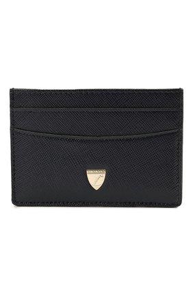 Мужской кожаный футляр для кредитных карт ASPINAL OF LONDON темно-синего цвета, арт. 039-2305_24690000 | Фото 1