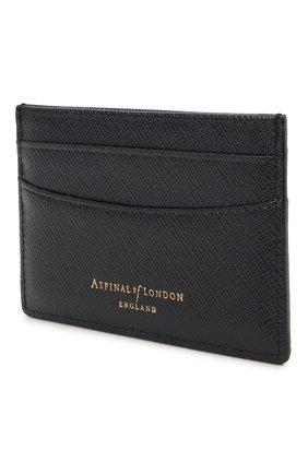 Мужской кожаный футляр для кредитных карт ASPINAL OF LONDON темно-синего цвета, арт. 039-2305_24690000 | Фото 2