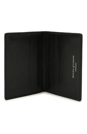 Мужской кожаный футляр для кредитных карт ASPINAL OF LONDON черного цвета, арт. 039-2277_14210000 | Фото 3