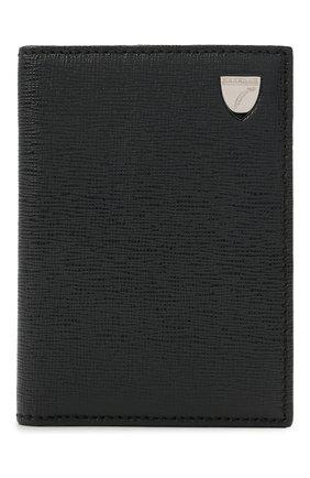 Мужской кожаный футляр для кредитных карт ASPINAL OF LONDON темно-синего цвета, арт. 039-2277_13990000 | Фото 1