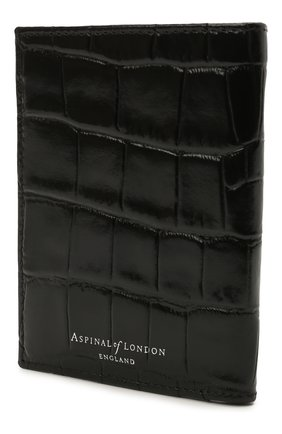 Мужской кожаный футляр для кредитных карт ASPINAL OF LONDON черного цвета, арт. 039-2276_00150000 | Фото 2