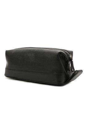 Мужской кожаный несессер ASPINAL OF LONDON черного цвета, арт. 015-0147_14210000 | Фото 2