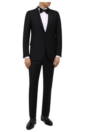 Мужская хлопковая сорочка LUIGI BORRELLI белого цвета, арт. EV28/DIPL0MATIC0/S31030/D0BLE CUFF | Фото 2