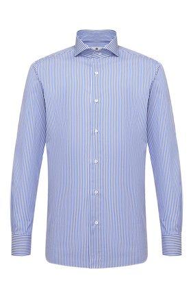 Мужская хлопковая сорочка LUIGI BORRELLI голубого цвета, арт. EV08/FELICE/S31147 | Фото 1