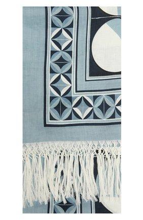 Мужские льняное полотенце DOLCE & GABBANA голубого цвета, арт. M0A01T/FP4L0 | Фото 2