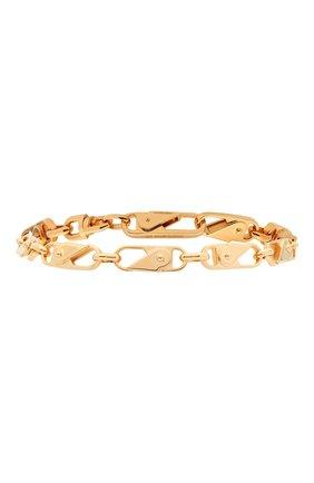 Мужской серебряный браслет AMBUSH золотого цвета, арт. BM0A021S21MET002 | Фото 1