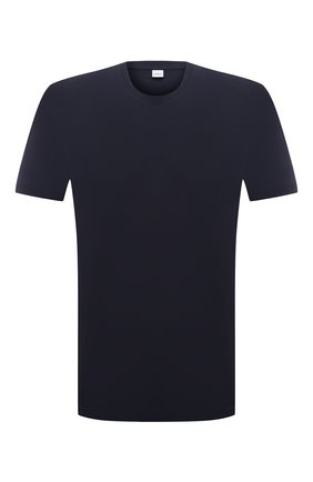 Мужская хлопковая футболка ASPESI темно-синего цвета, арт. S1 A 3107 A335 | Фото 1
