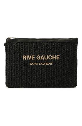 Текстильный клатч Rive Gauche | Фото №1