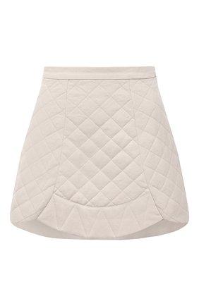 Женская хлопковая юбка RUBAN бежевого цвета, арт. RPS21-5.1.34.10   Фото 1
