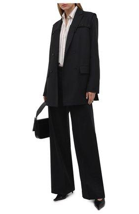 Женский шерстяной жакет RUBAN черного цвета, арт. RCSS21–3.1.42.2   Фото 2