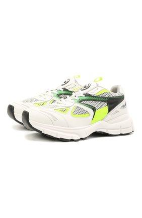 Женские комбинированные кроссовки marathon runner AXEL ARIGATO белого цвета, арт. 94600 | Фото 1