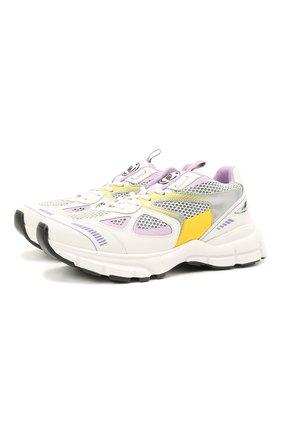 Женские комбинированные кроссовки marathon runner AXEL ARIGATO белого цвета, арт. 94602 | Фото 1