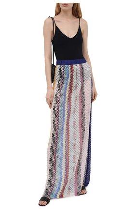 Женская юбка из вискозы MISSONI разноцветного цвета, арт. MMH00034/BR00E4 | Фото 2