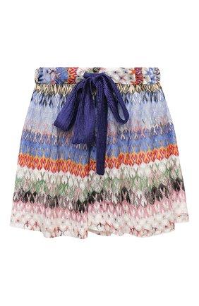 Женские шорты из вискозы MISSONI разноцветного цвета, арт. MMI00029/BR00E3 | Фото 1