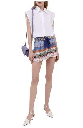 Женские шорты из вискозы MISSONI разноцветного цвета, арт. MMI00029/BR00E3 | Фото 2
