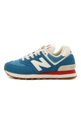 Детские кроссовки 574 vintage brights NEW BALANCE синего цвета, арт. ML574HC2/D   Фото 2