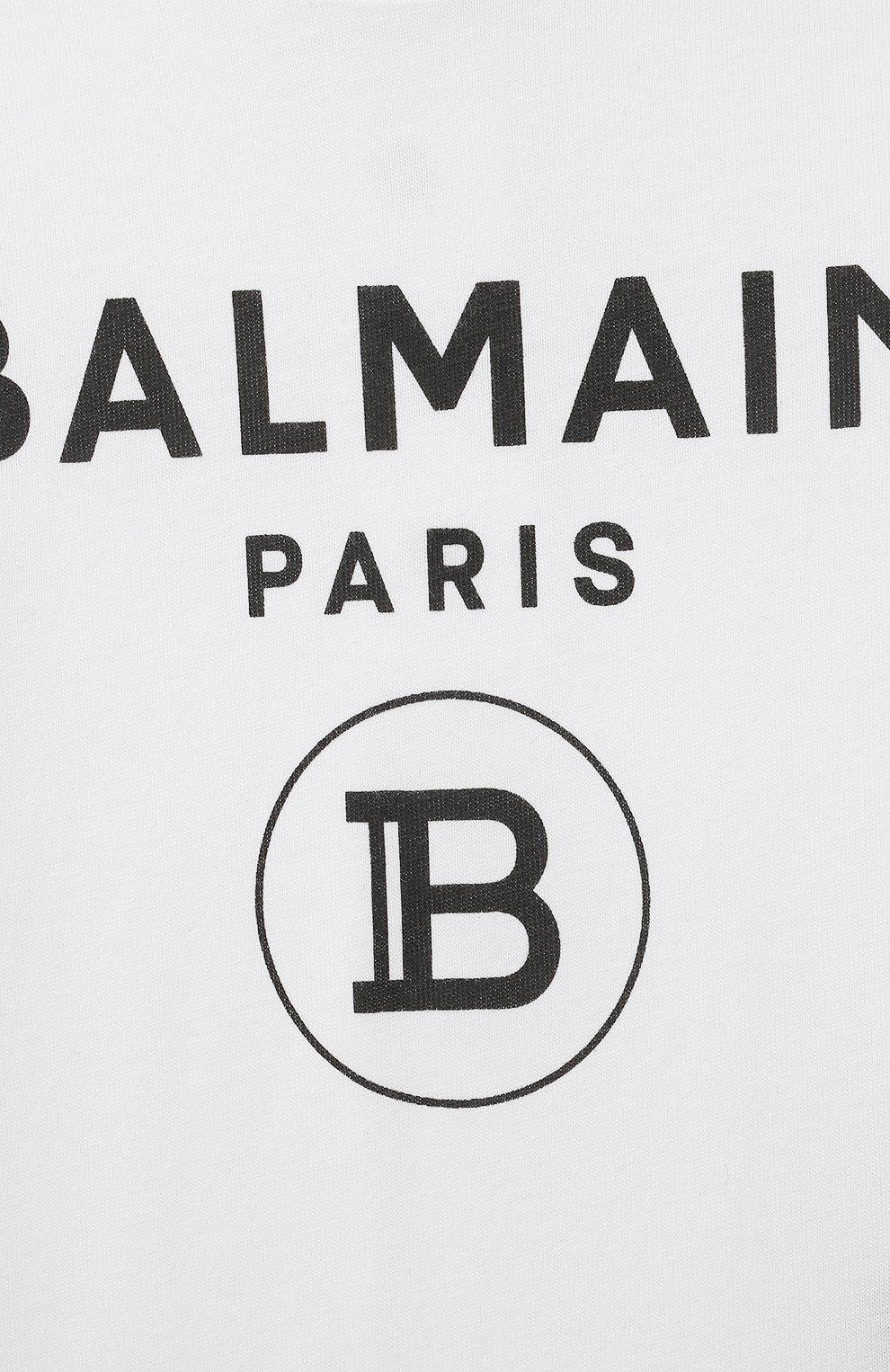 Детское комплект из двух боди BALMAIN черного цвета, арт. 6O8A10   Фото 7