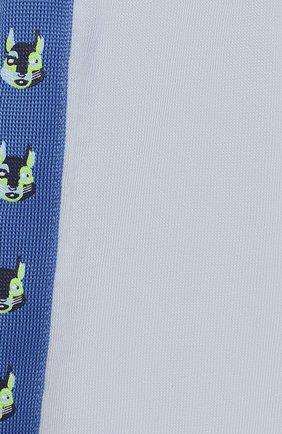 Детский комплект из трех предметов MARC JACOBS (THE) голубого цвета, арт. W98132 | Фото 2