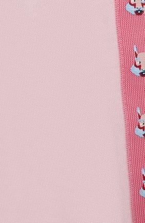 Детский комплект из трех предметов MARC JACOBS (THE) розового цвета, арт. W98132 | Фото 2