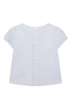 Женский комплект из футболки с сарафаном CHLOÉ голубого цвета, арт. C08039 | Фото 3