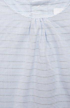Женский комплект из футболки с сарафаном CHLOÉ голубого цвета, арт. C08039 | Фото 6