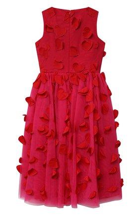 Детское платье SIMONETTA фуксия цвета, арт. 1O1212 | Фото 2