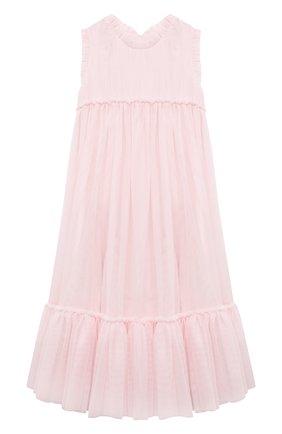 Детское платье CHARABIA розового цвета, арт. S12133 | Фото 1