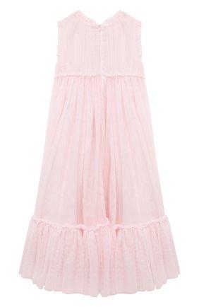 Детское платье CHARABIA розового цвета, арт. S12133 | Фото 2