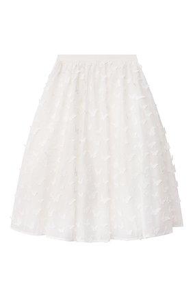 Детская юбка CHARABIA белого цвета, арт. S13023   Фото 1