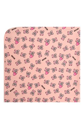 Детского хлопковое одеяло MOSCHINO розового цвета, арт. MMB006/LAB22   Фото 2