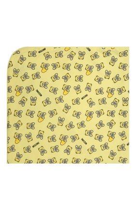 Детского хлопковое одеяло MOSCHINO желтого цвета, арт. MMB006/LAB22 | Фото 2
