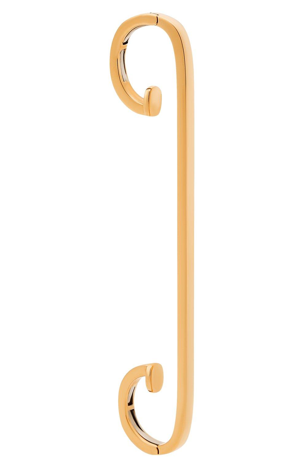 Женские серьга REPOSSI бесцветного цвета, арт. EA/ST4G   Фото 2 (Драгоценные камни: Без драгоценных камней; Материал сплава: Розовое золото)