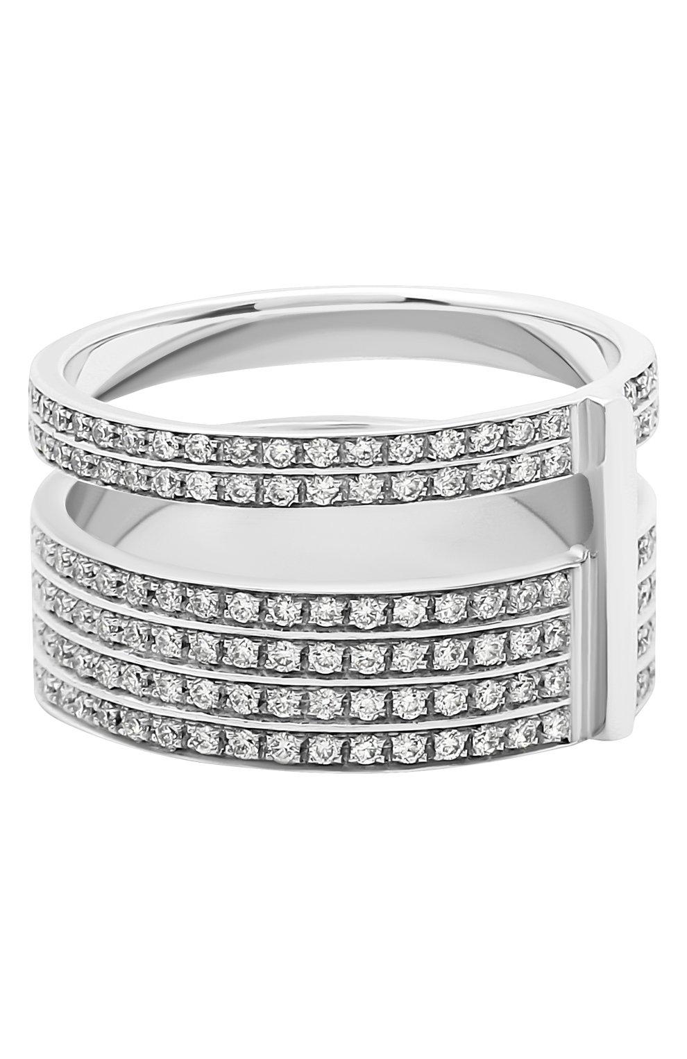 Женские кольцо REPOSSI бесцветного цвета, арт. RG/AL31AA(W) | Фото 2 (Материал сплава: Белое золото; Драгоценные камни: Бриллианты)